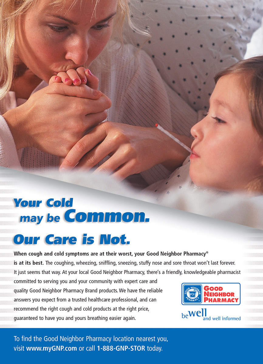 Good Neighbor Pharmacy - Full Page Ad