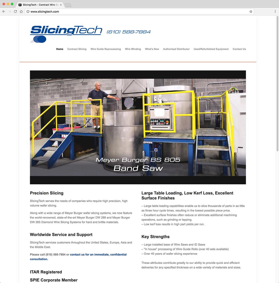 SlicingTech Website