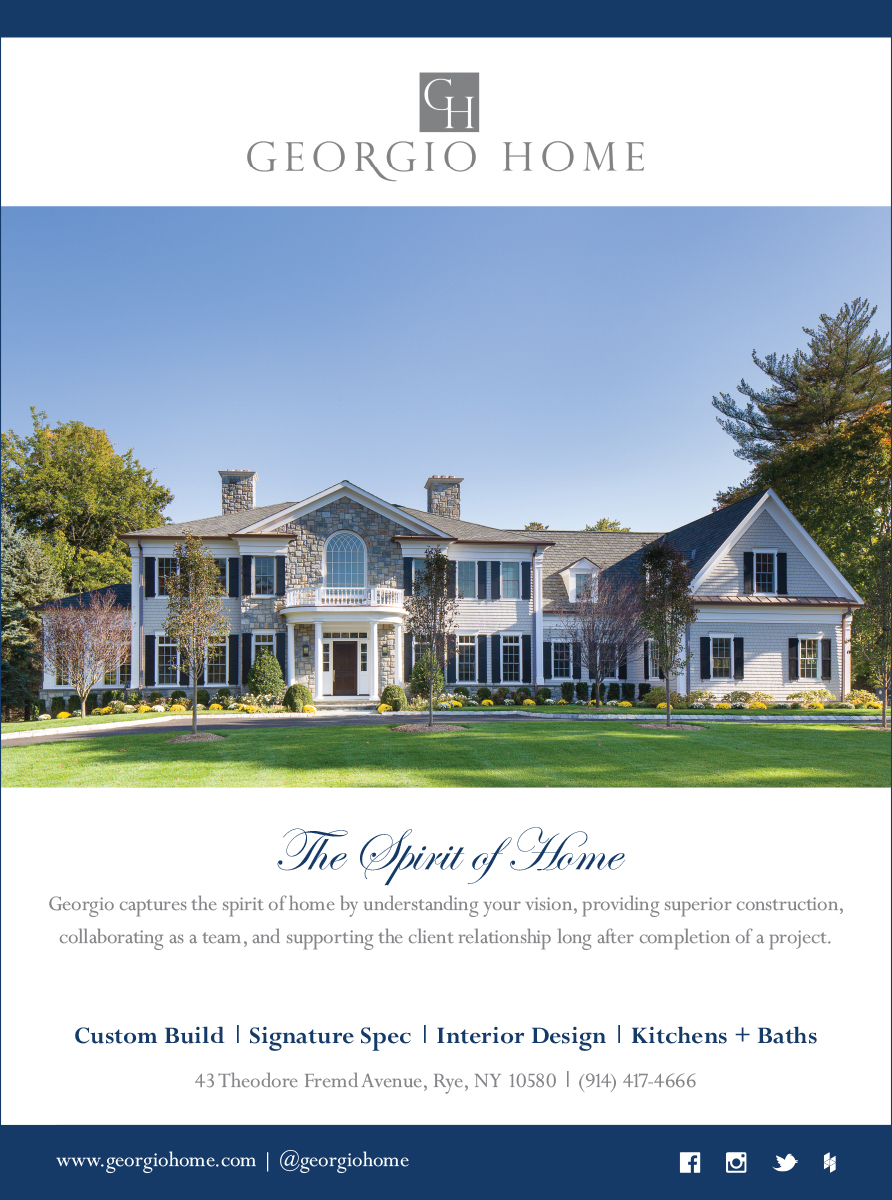 Georgio Home - 1/4 Page Newspaper Ad