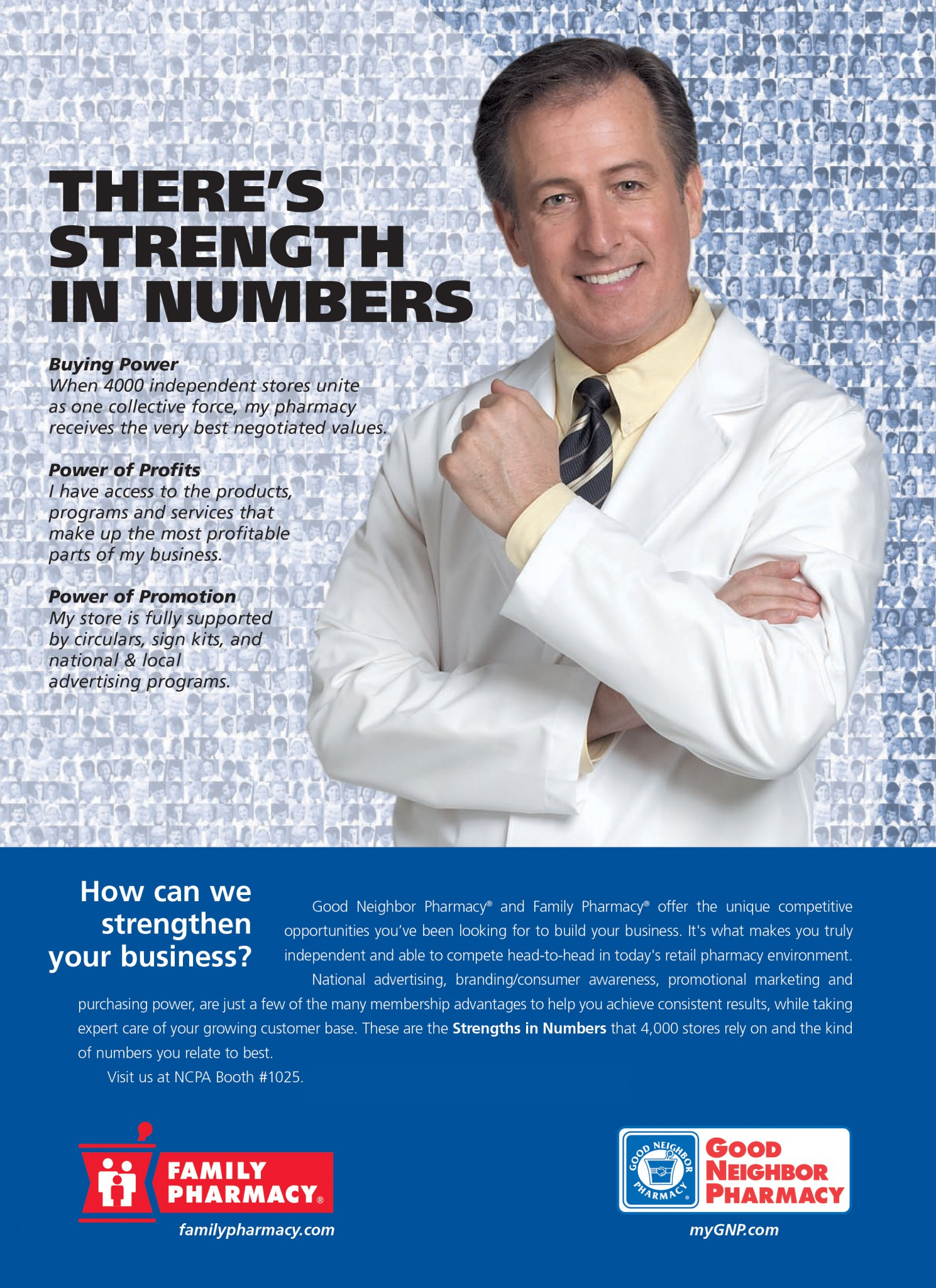 AmerisourceBergen Strength in Numbers Campaign - Full Page Ad