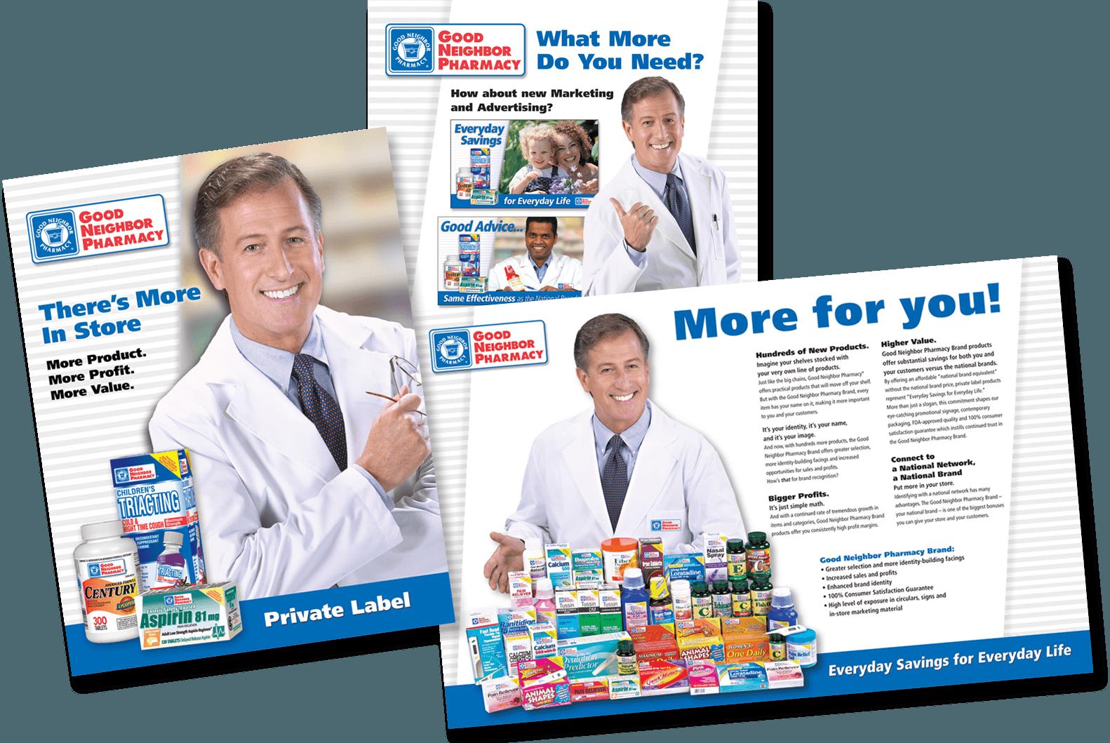 Good Neighbor Pharmacy Store Brand Products Brochure