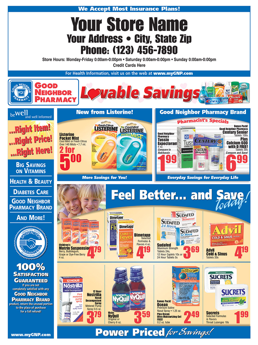 Good Neighbor Pharmacy Retail Circular